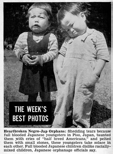Heartbroken Brown Babies in Japan - Jet Magazine, December 13, 1951