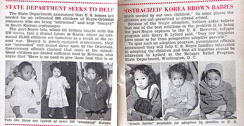 Korea's Ostracized Brown Babies - Jet Mag, Mar 24, 1955